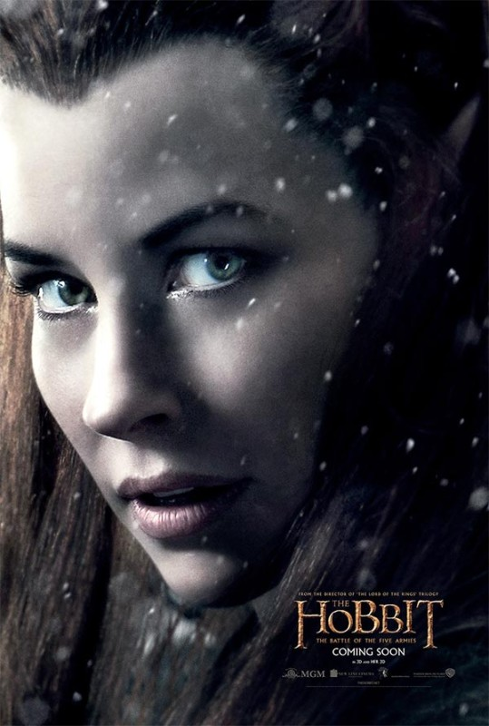 Hobbit-Battle-of-Five-Armies-Tauriel-Poster