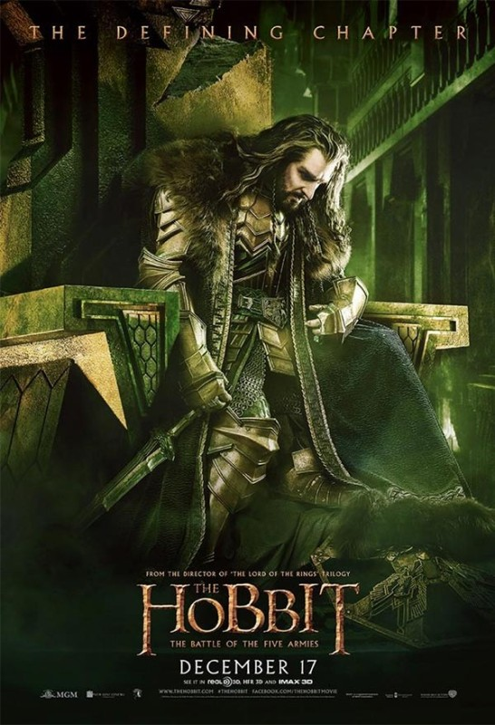 Hobbit-Battle-of-Five-Armies-Thorin-Defining-Chapter-Poster